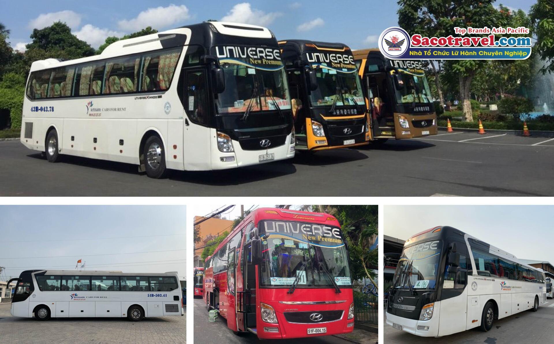 Saco Travel tăng cường chuyến xe 0 đồng