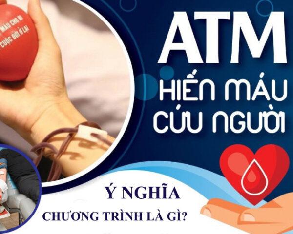 Chương trình Atm hiến máu